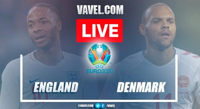 Goals and highlights:England 2-1 Denmarkin Euro 2020