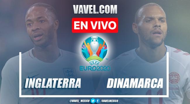 Resumen y goles: Inglaterra 2-1 Dinamarca en Semifinal de la Euro 2020