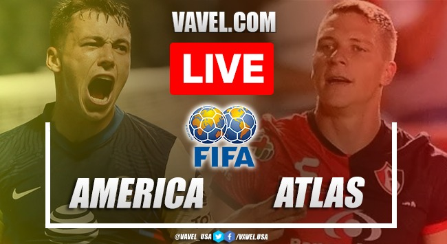 Goals and Highlights: America 1-0 Atlas in Friendly Match 2021