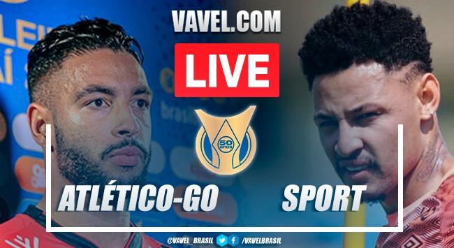 Gols e melhores momentos Atlético-GO x Sportpelo Campeonato Brasileiro (1-1)
