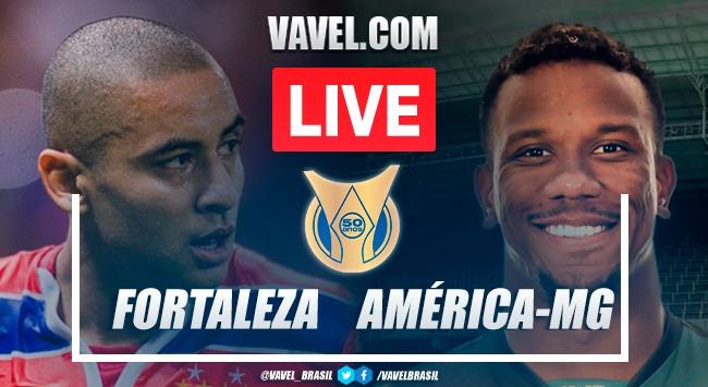 Gols e melhores momentos de Fortaleza x América-MG (4-0)