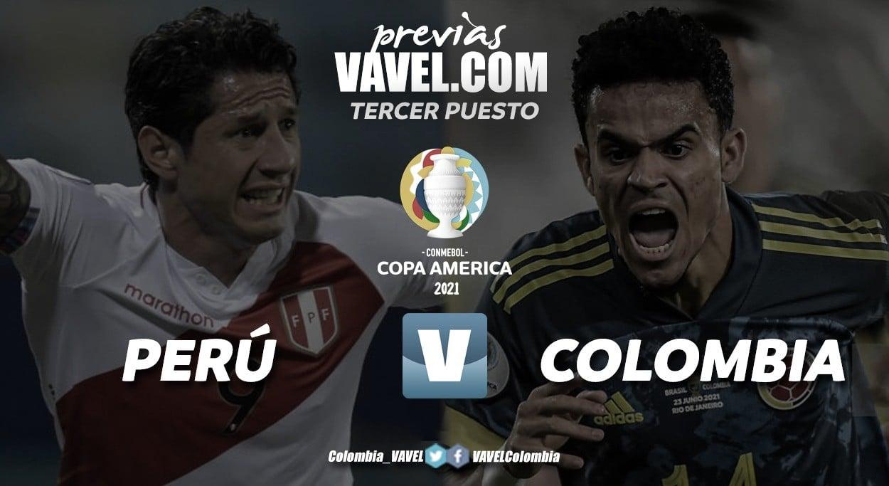 Previa Colombia vs Perú: el duelo por el tercer lugar del podio