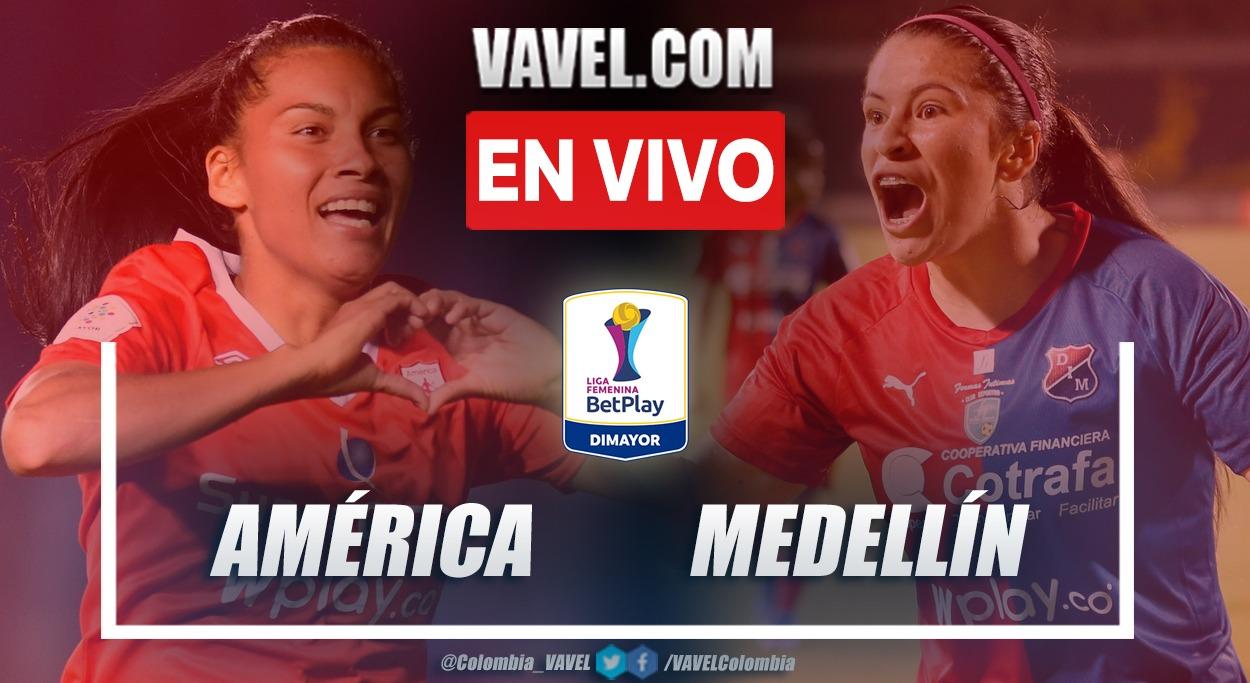 Resumen y goles: América 2-4 DIM en fecha 1 del grupo B por Liga Femenina 2021