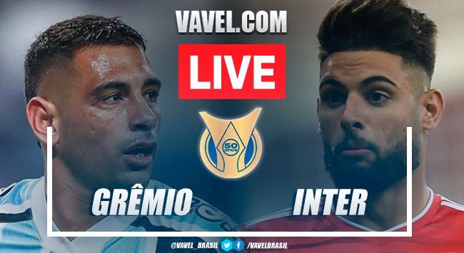 Melhores momentos de Grêmio 0x0 Inter pelo Campeonato Brasileiro