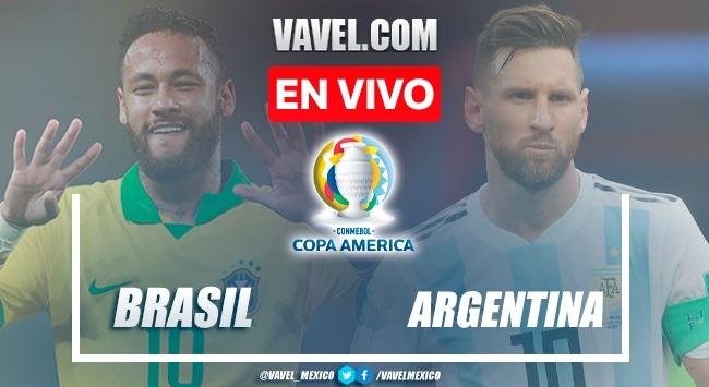 Resumen y Gol del Argentina 1-0 Brasil en la GRAN FINAL de la Copa América 2021