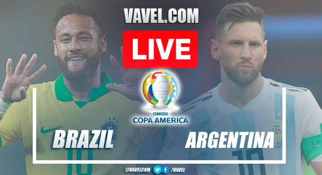 Goal and Highlights of Brazil 0-1 Argentina on Copa America FINAL Match 2021