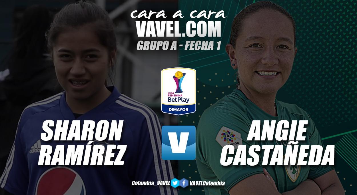 Cara a cara: Sharon Ramírez vs Angie Castañeda
