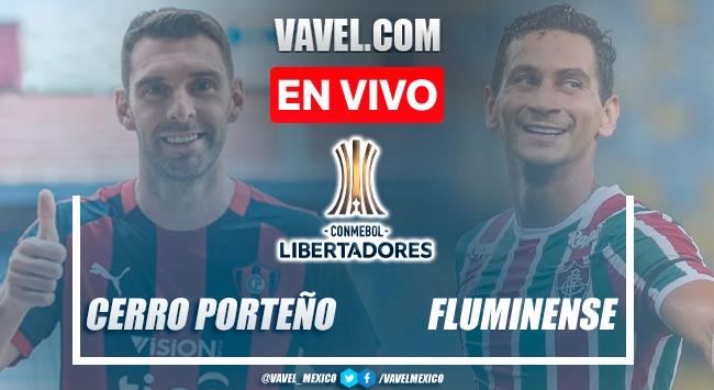 Goles y resumen del Cerro Porteño 0-2 Fluminense en Copa Libertadores 2021