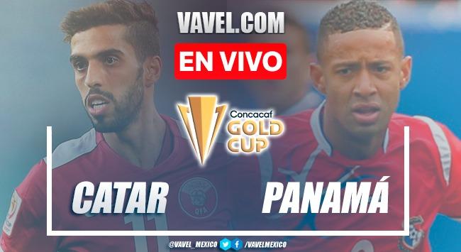 Resumen y goles:Qatar 3-3 Panamáen Copa Oro 2021