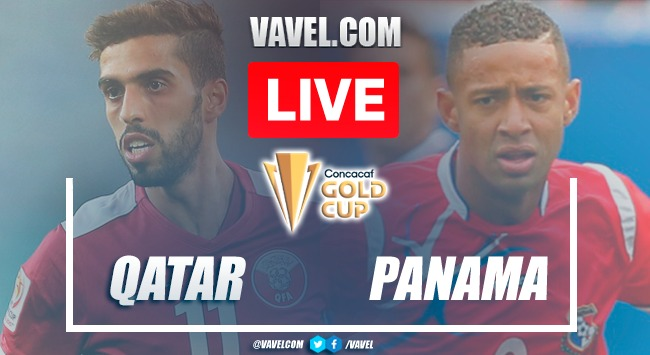 Goals and highlights:Qatar 3-3 Panamain Gold Cup 2021