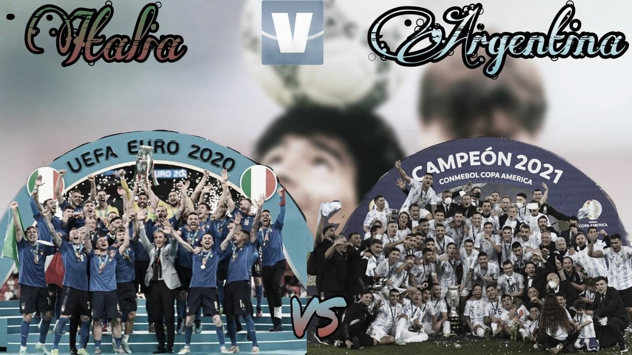¿Se acerca un Argentina-Italia?