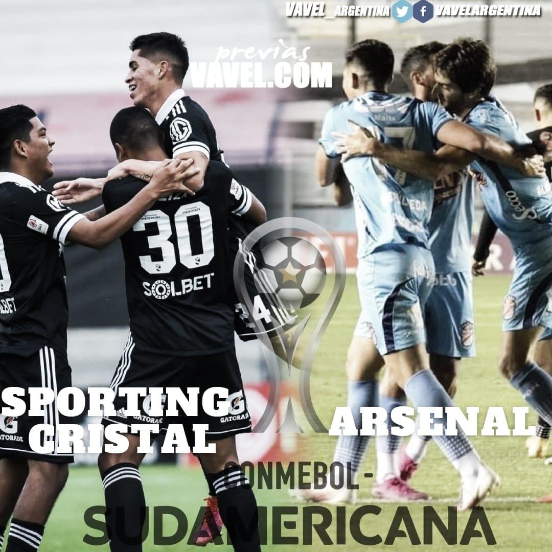 Arsenal- Sporting Cristal: Primera vez a Lima