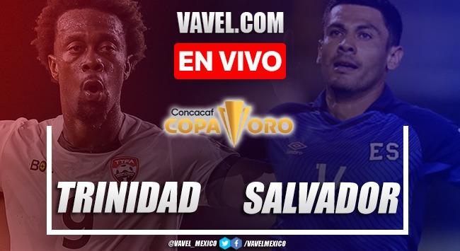 Resumen y goles:Trinidad y Tobago 0-2 El Salvadoren Copa Oro 2021