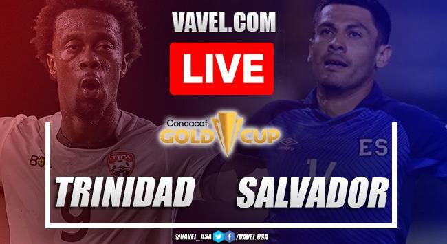 Goals and highlights:Trinidad and Tobago 0-2 El Salvadorin Gold Cup 2021