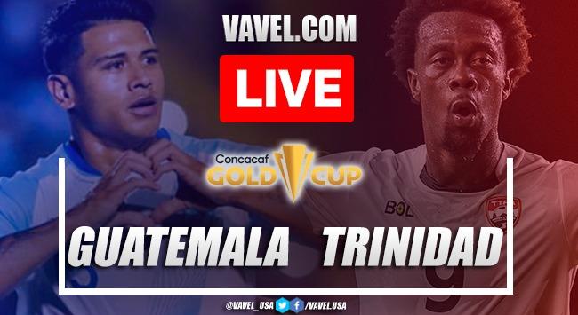 Goals and Highlights: Guatemala 1-1 Trinidad & Tobago Gold Cup 2021