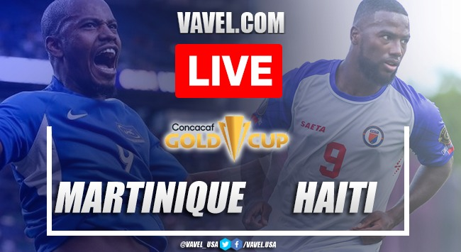 Goals and highlights: Martinique 1-2 Haiti in Gold Cup 2021