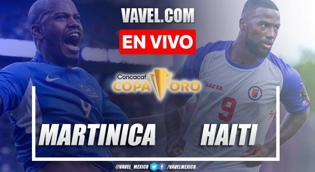 Resumen y goles Martinica 1-2 Haití en Copa Oro 2021