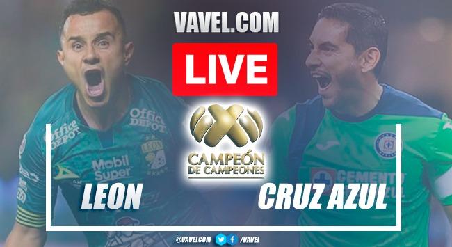 Goals and Highlights: Leon 1-2 Cruz Azul in Campeon de Campeones 2021