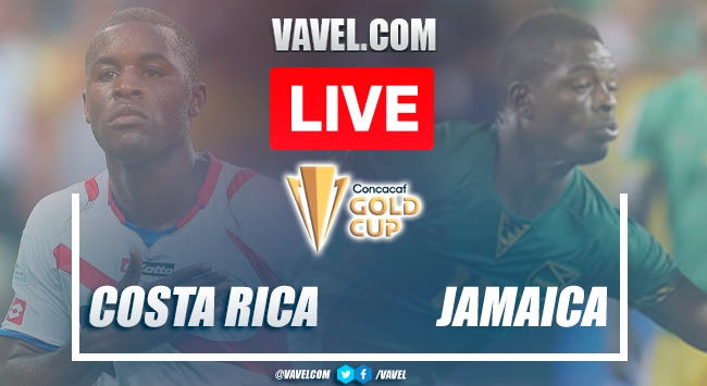Goals and highlights:Costa Rica 1-0 Jamaicain Gold Cup 2021