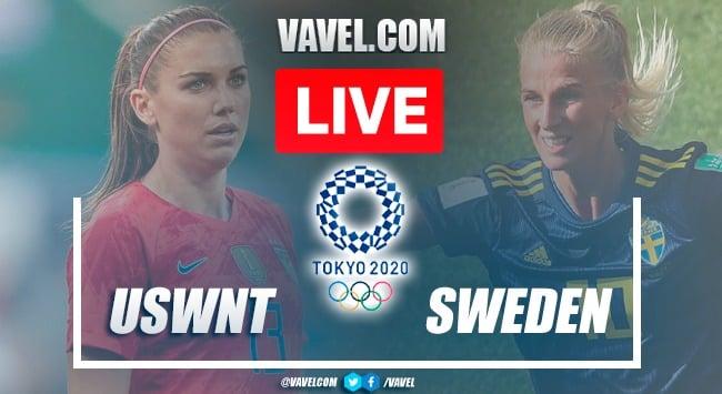 Goals andHighlight: USWNT 0-3 Sweden in Tokyo 2020