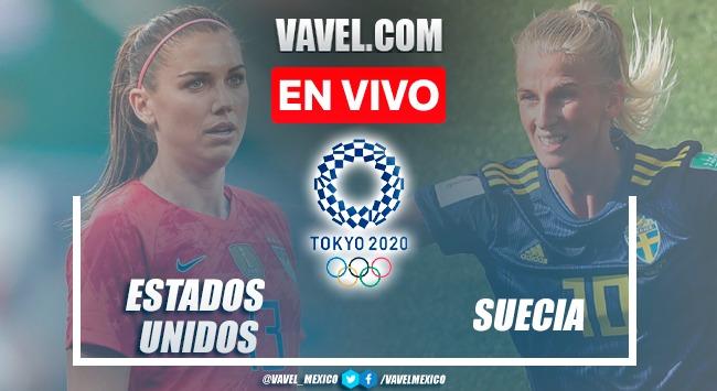 Goles y resumen del USWNT 0-3 Suecia en Tokio 2020
