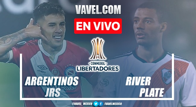 Goles y resumen del Argentinos Juniors 0-2 River Plate en Copa Libertadores 2021