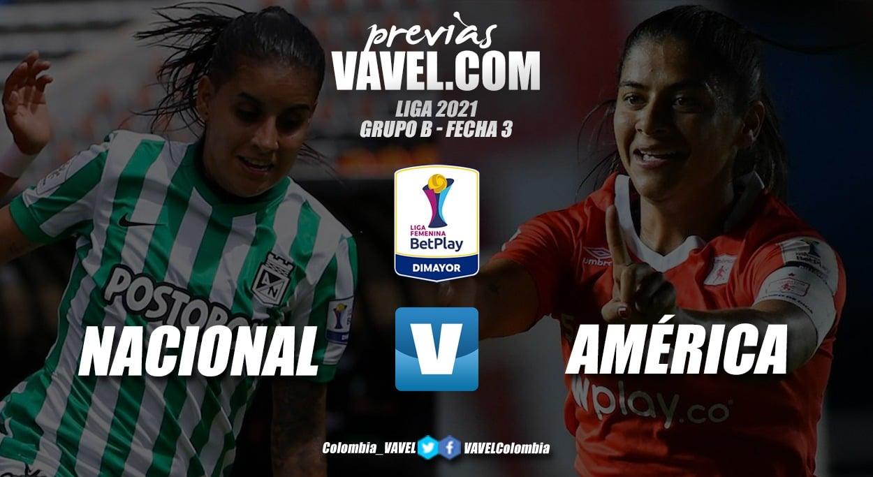 Previa Atlético Nacional vs América de Cali: primer superclásico en el grupo