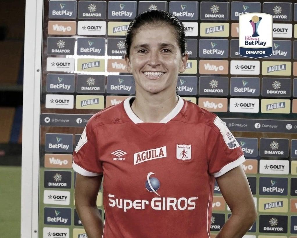 Carolina Pineda, la figura del partido en la remontada del América sobre Nacional