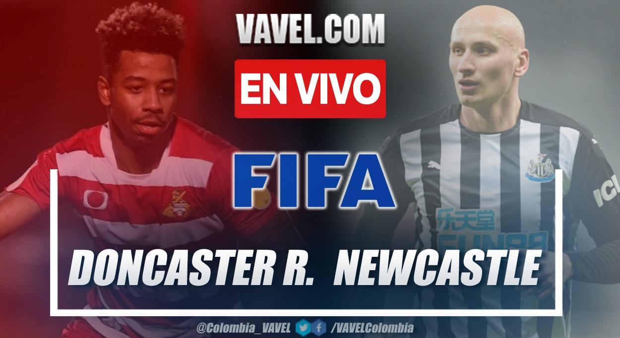 Resumen y goles: Doncaster Rovers vs Newcastleen Partido Amistoso