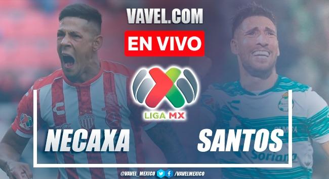 Resumen y goles: Necaxa 0-3 Santos en Liga MX