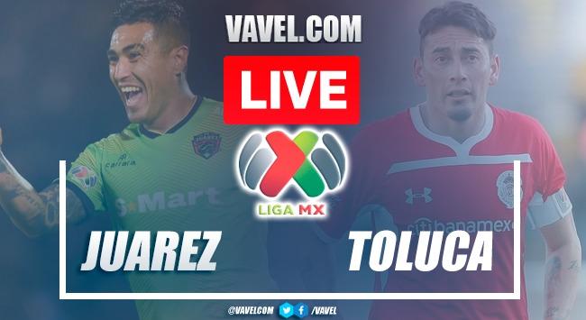 Goals and highlights:FC Juarez 1-3 Tolucain Liga MX