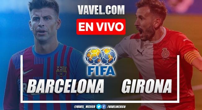 Goles y resumen del Barcelona 3-1 Girona en Partido Amistoso 2021