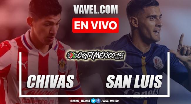 Goles y resumen del Chivas 1-2 Atlético de San Luis en Liga MX 2021