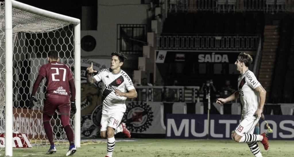 Na estreia de Lisca, Vasco joga bem, goleia Guarani e cola no G-4 da Série B