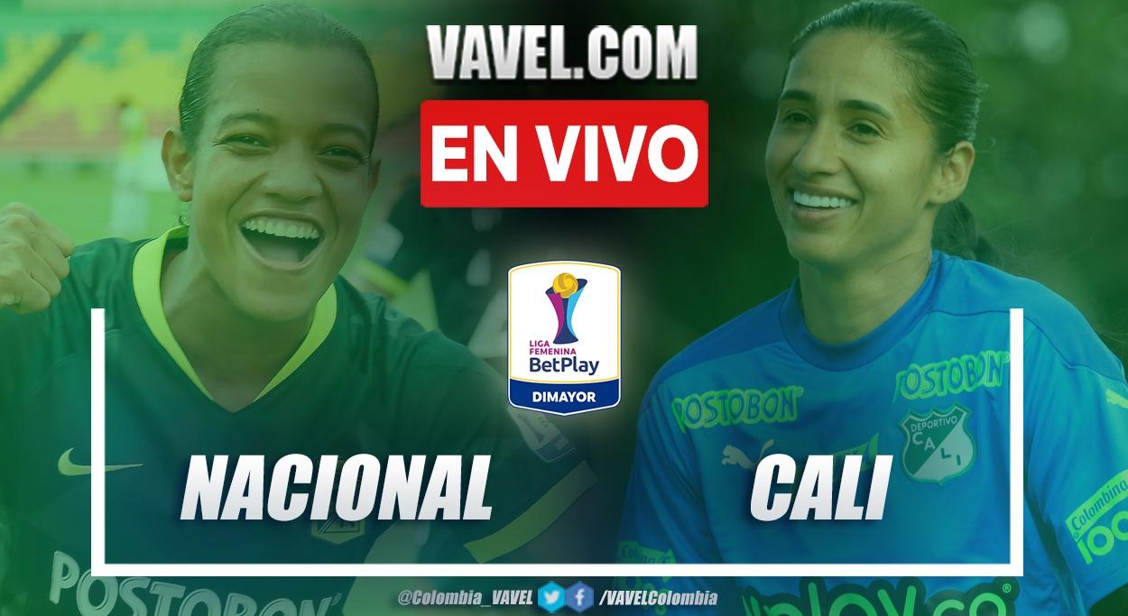 Resumen Nacional 0-0 Cali en la fecha 4 del grupo B por Liga Femenina 2021