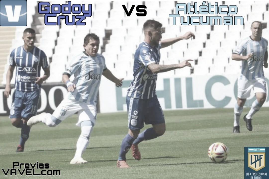 Godoy Cruz vs Atlético Tucumán: Siguen con la esperanza de ganar