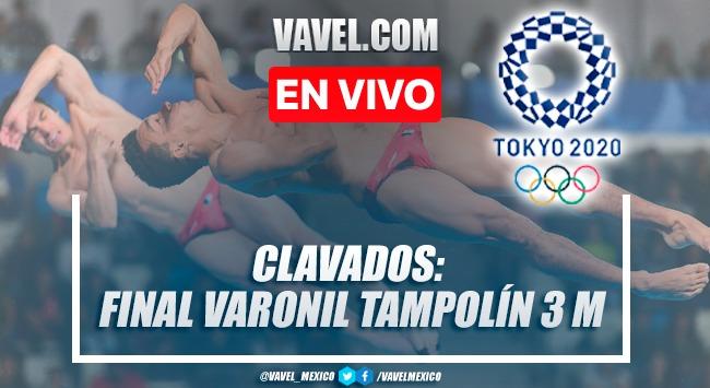 Resumen: final de clavados varonil en trampolín de 3m en Juegos Olímpicos 2020