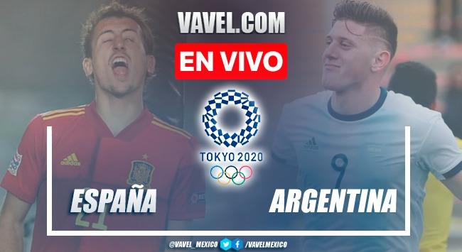 Goles y Resumen del España 1-1 Argentina en Juegos Olímpicos de Tokio 2020
