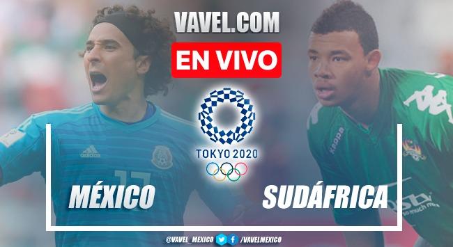 Goles y resumen: México 3-0 Sudáfrica en Juegos Olímpicos