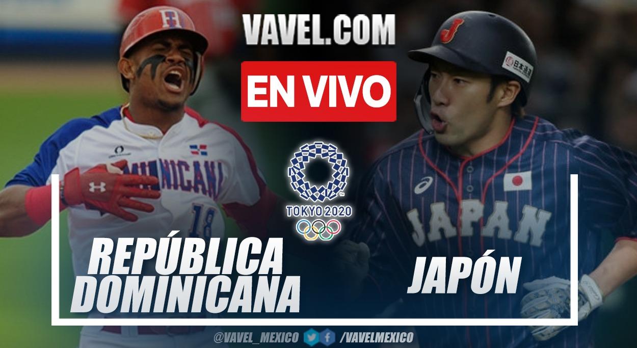 Resumen: República Dominicana 3-4 Japón en Tokio 2020