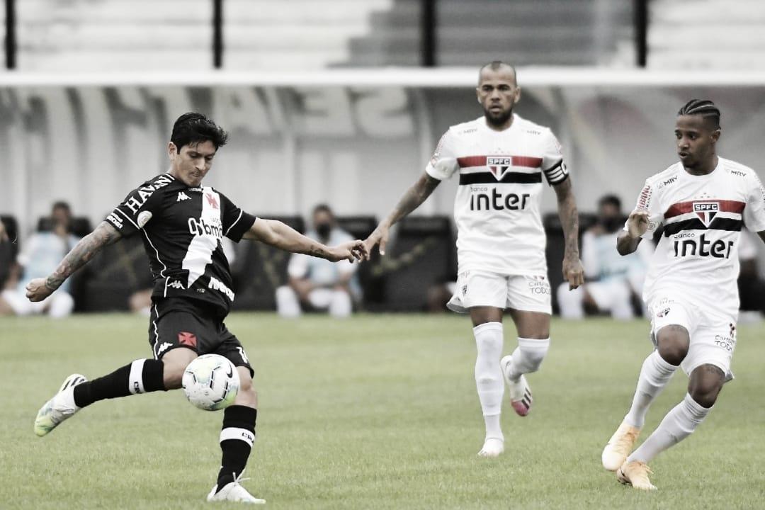São Paulo e Vasco se enfrentam nas oitavas da Copa do Brasil