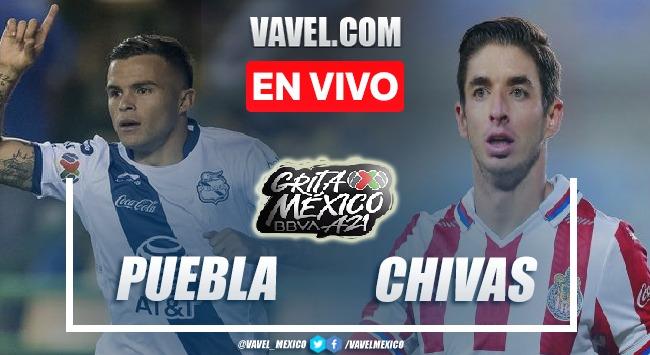 Puebla vs Chivas EN VIVO: ¿cómo ver transmisión TV online en Liga MX?