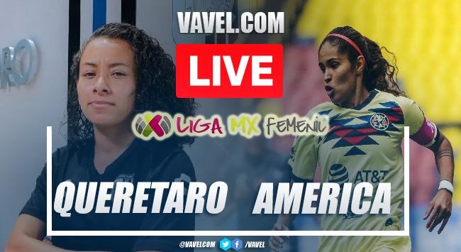 Goals and highlights: Gallos Queretaro 1-3 America in Liga MX Femenil