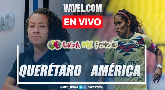 Resumen y goles: Gallos Querétaro 1-3 América en Liga MX Femenil
