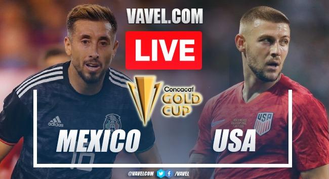 Gol e melhores momentos de Estados Unidos x México (1-0)