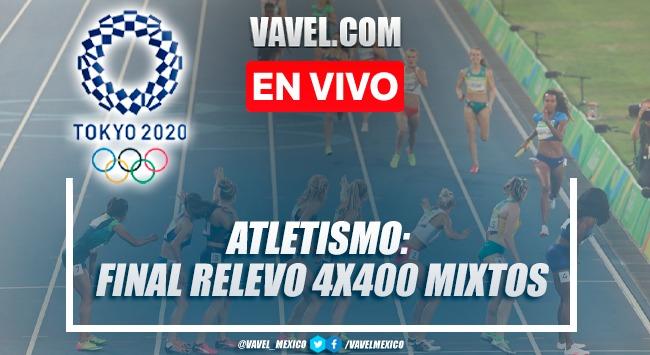Resumen de Atletismo: Final 4x400 Mixto en Tokio 2020