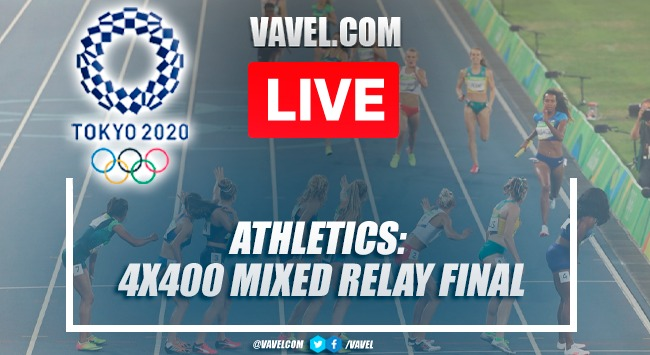 Highlights: Athletics: Final 4x400 Mixed