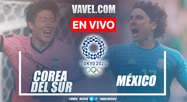 Goles y Resumen del México 6-3 Corea en Juegos Olímpicos Tokio 2020