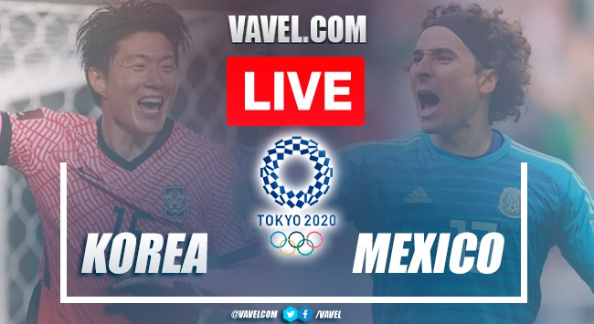 Goals and Highlights Mexico 6-3 South Korea on Olympic Games Tokyo 2020