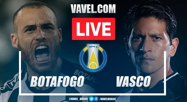 Gols e melhores momentos Botafogo x Vasco pela Série B (2-0)